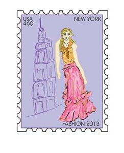 new york stamp
