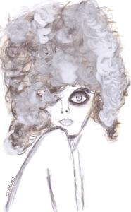 charrcoal lady